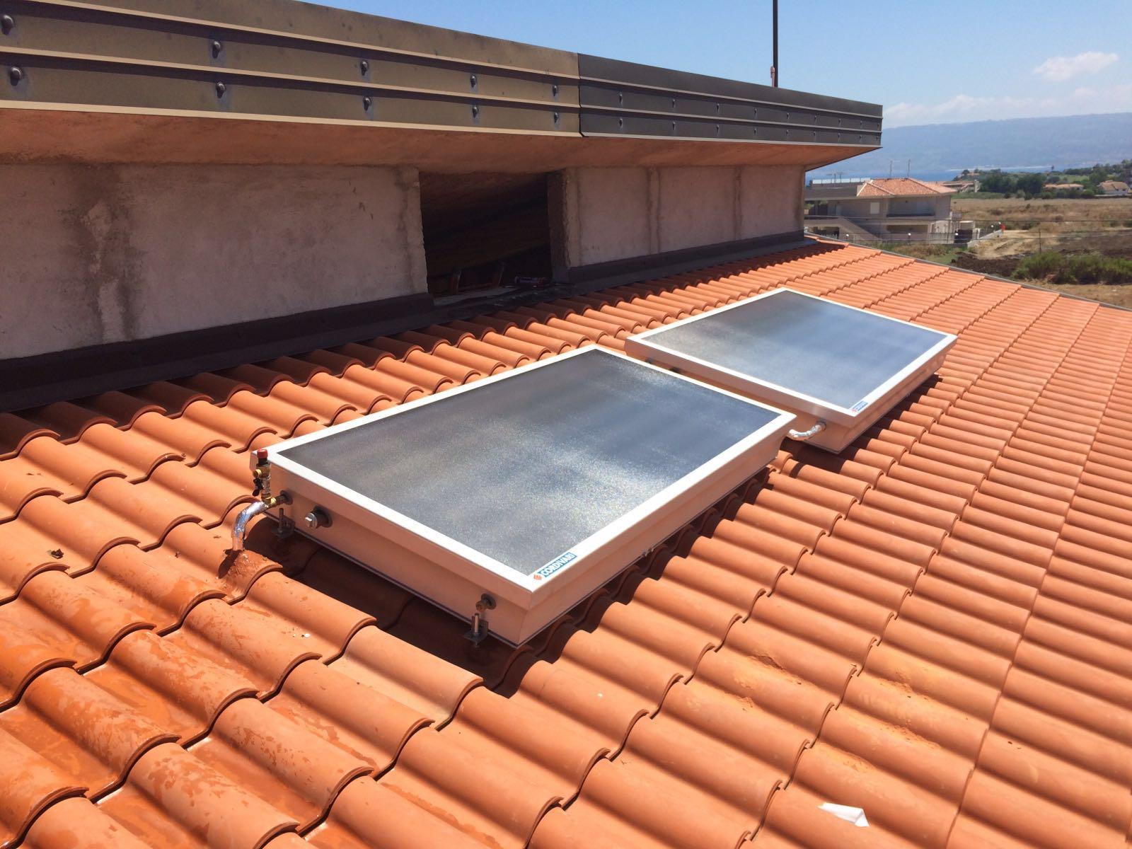 Pannello Solare Termico Compatto : Impianto solare termico cordivari sistema stratos